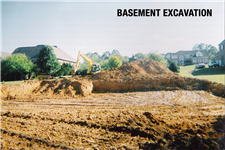 basement excavation champion contracting